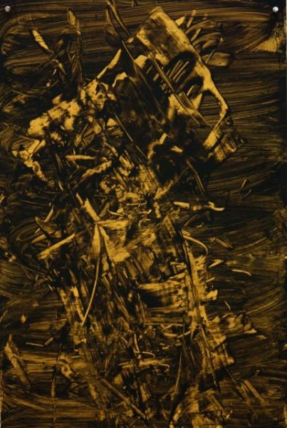 Judy Millar untitled-2011-50x35cm
