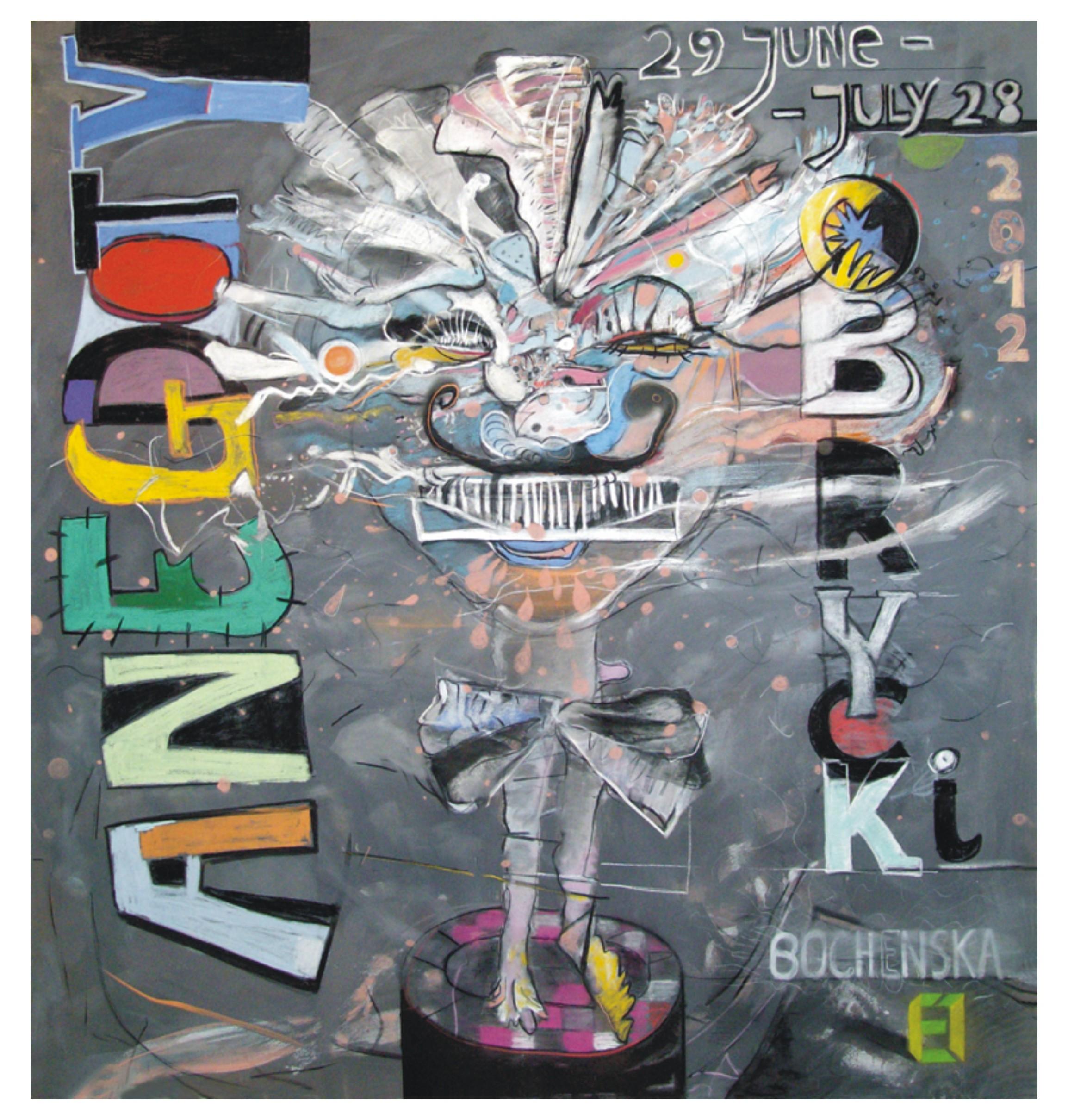 Mikołaj Obrycki 150x140cmmixedmediaon-canvas-2012