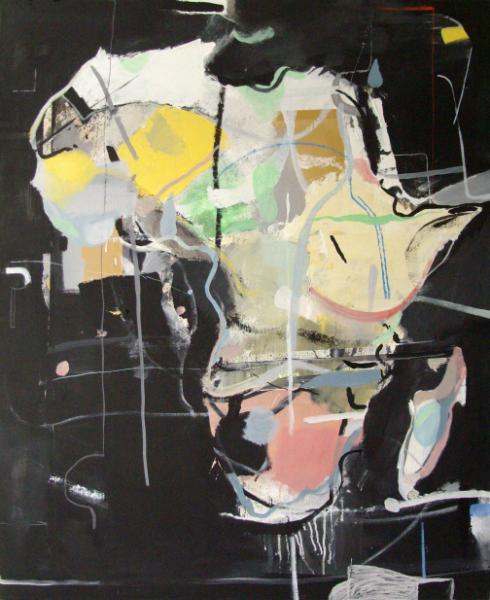 Mikołaj Obrycki 2011-africa-170x143cmmixedmediacanvas