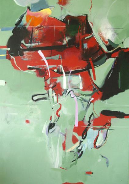 Mikołaj Obrycki 2012-africa2-acryliccanvas200x145cm