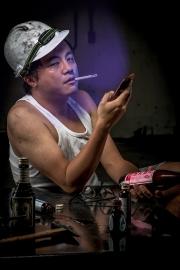 Ding Yuan Wang - Sick Worker - Face Light series