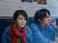 Ding Yuan Wang - In the coffee shop - Face Light Series