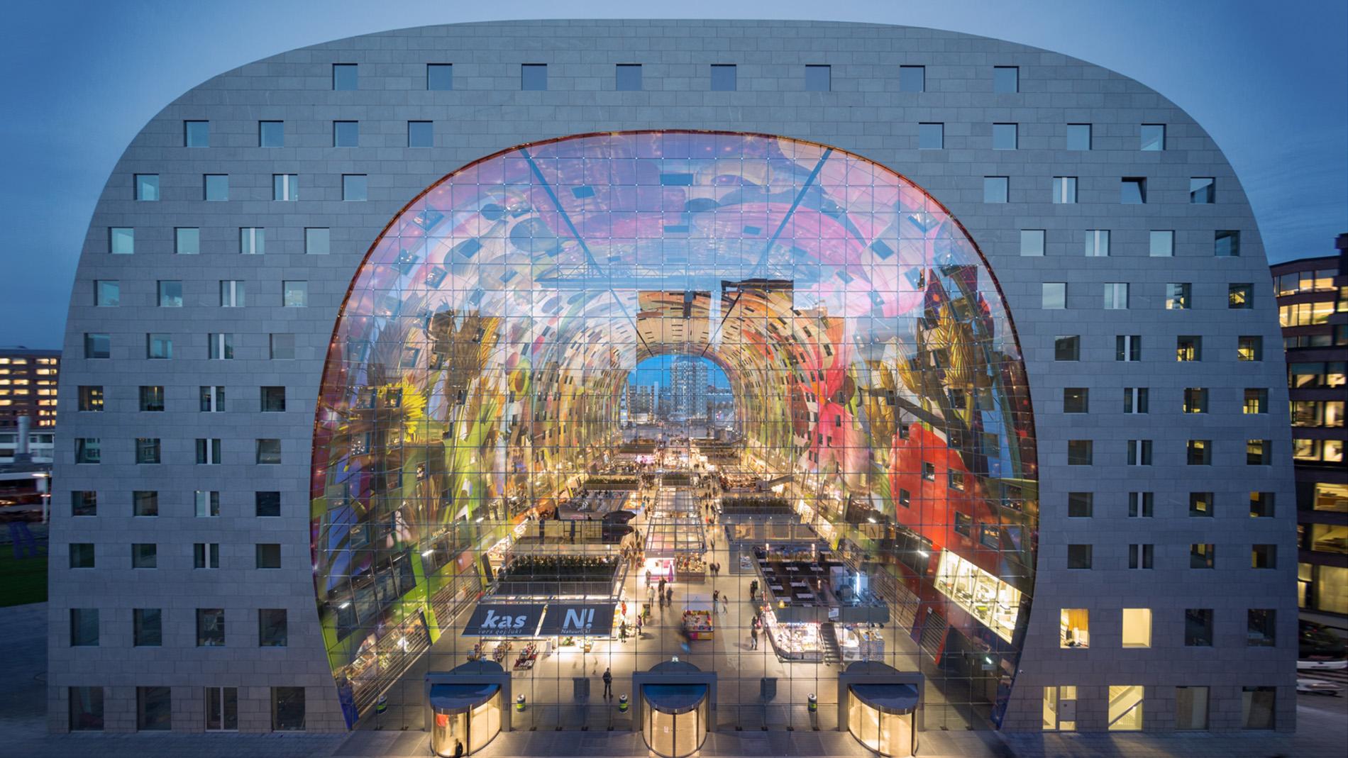 Markthal exterior - Rotterdam