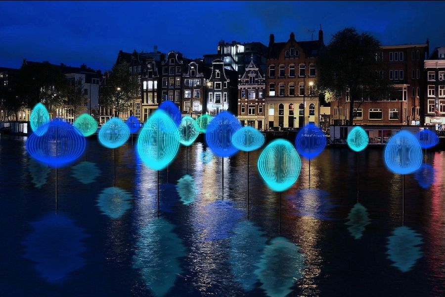 Amsterdam Light Festival in 2016
