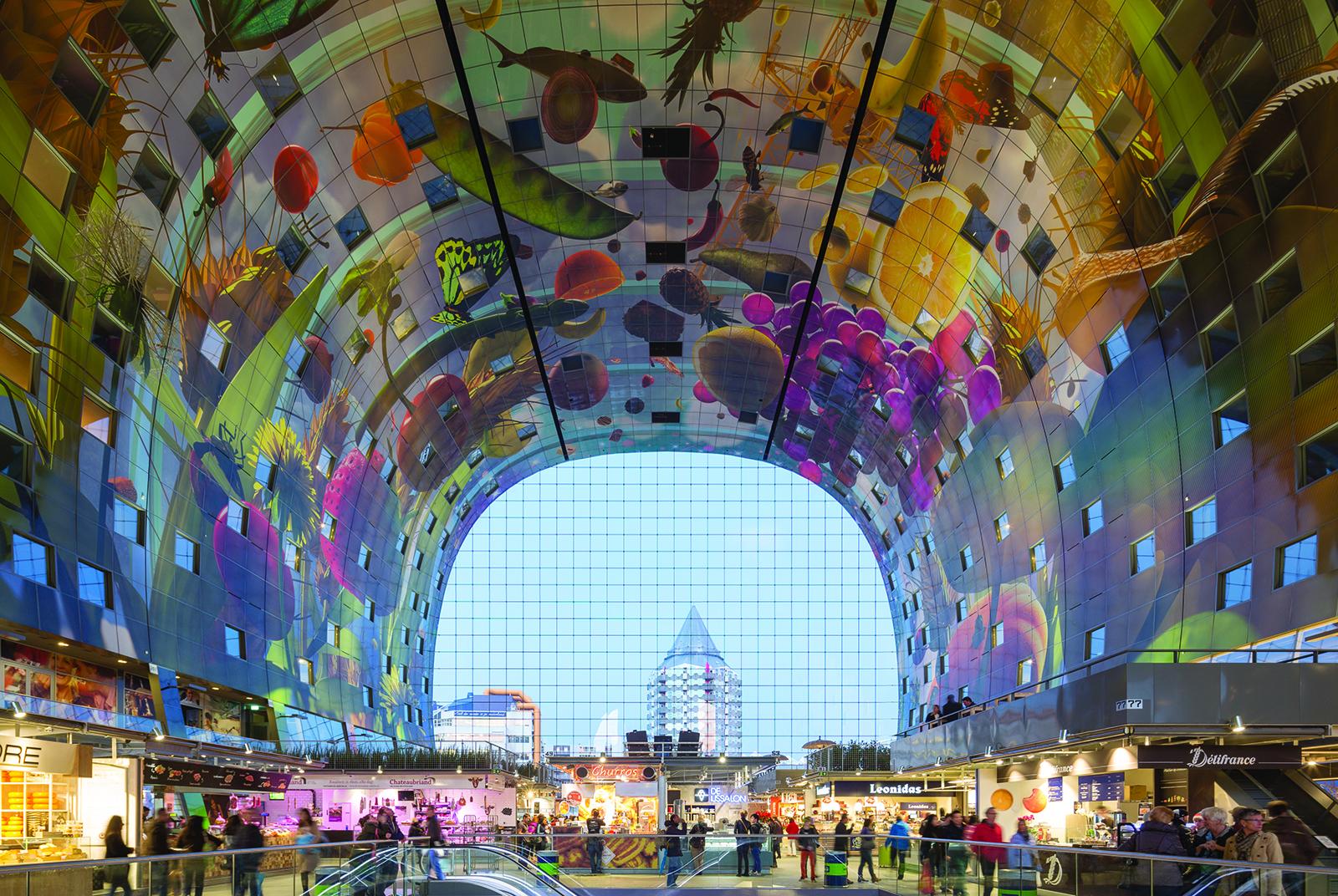 Markthal interior - Rotterdam