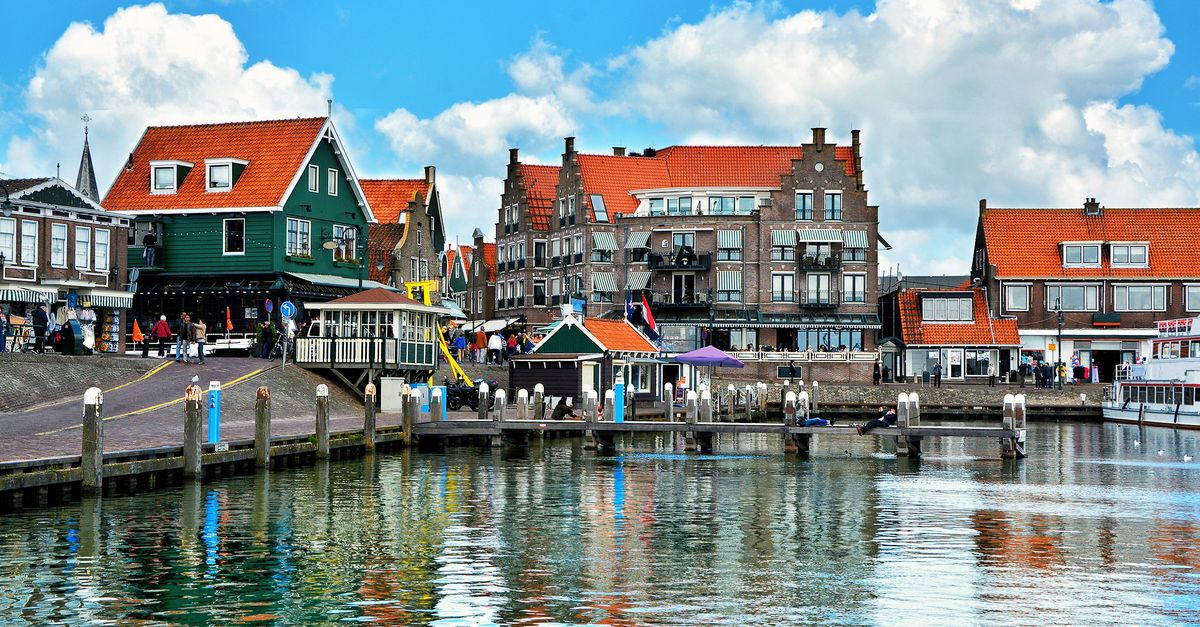 Volendam - the ancient fishermen's village