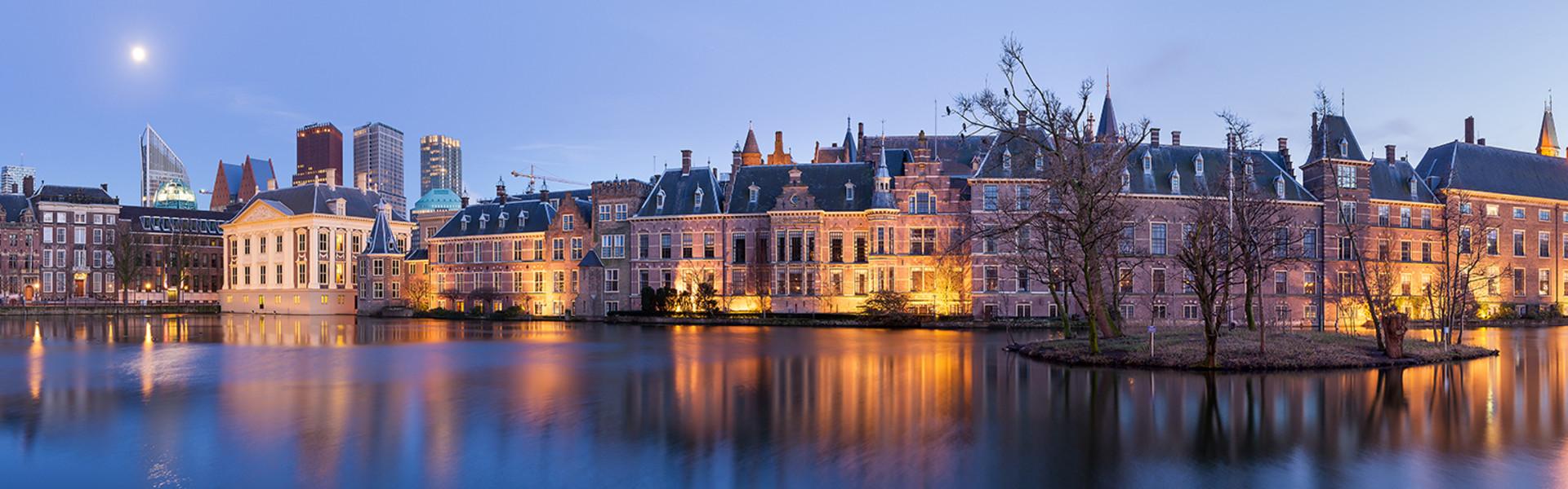 Het Binnenhof by night